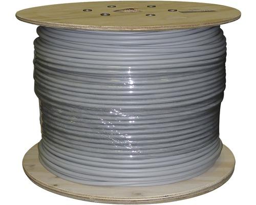 Câble électrique sous gaine NYM-J 5x2.5mm², bobine de pro 250m gris