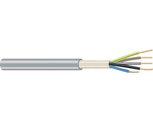 Câble électrique sous gaine NYM-J 5x1,5mm² 100m gris