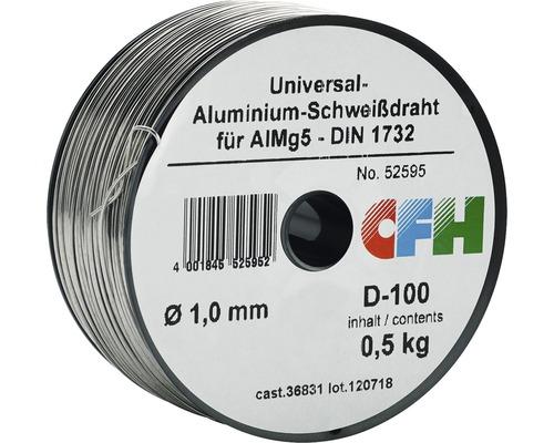 Fil à souder aluminium CFH Ø 1 mm 0.5 KG