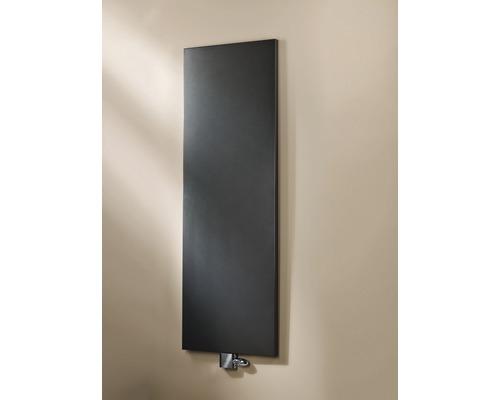 Designheizkörper Schulte New York 1806x456 mm pearl schwarz