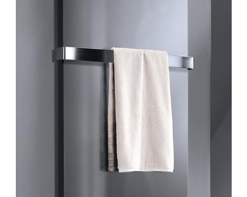 Porte-serviettes pour radiateurs design New York et Lyon H3802 acier inoxydable brossé