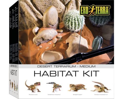 Ensemble terrarium Exo Terra Habitat du Désert Kit M-0
