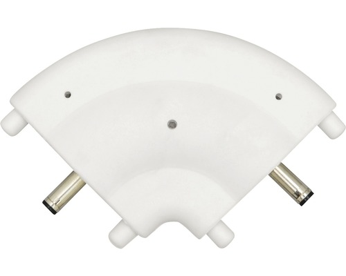 Connecteur d''angle pour LED blanc 9974117