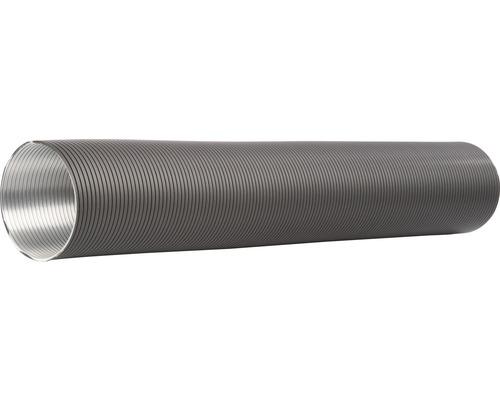 Tube flexible en aluminium Ø 80 mm revêtu par poudre gris