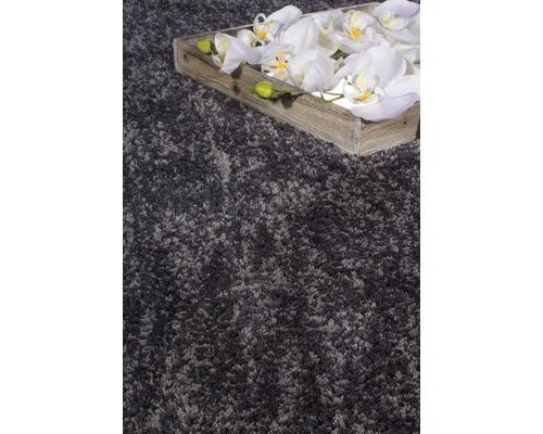 Hornbach Teppich barbara becker teppich shag touch lavagrau 70 x 140 cm hornbach