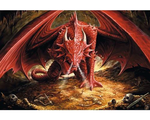 Poster Anne Stokes - Dragons Liar 61x91,5 cm