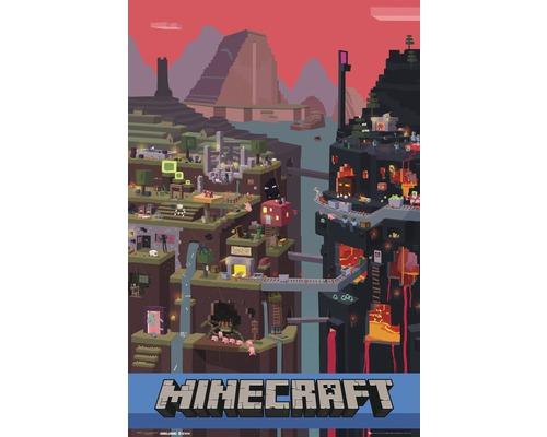 Poster Minecraft 61x91,5 cm