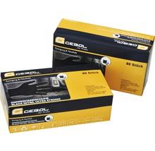 Gants de protection jetables Black Nitril taille M, paquet de 80-thumb-1