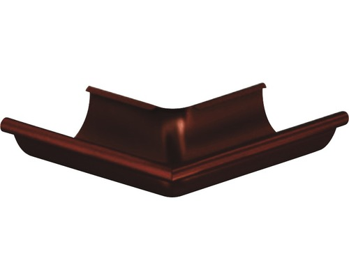 Precit Aussenwinkel 90° chocolate brown NW 125mm