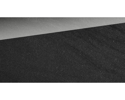Carrelage mur et sol en grès cérame fin Helios anthracite poli 30 x 60 cm