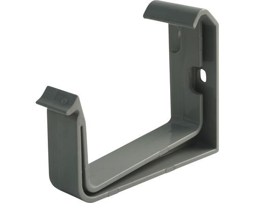 Marley Kastenrinnenhalter Kunststoff grau Nennweite 70 mm