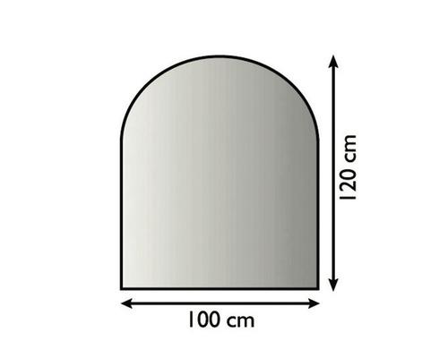 Pare-feu Lienbacher arc segmenté 100x120 cm anthracite