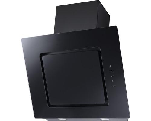 Hotte inclinée PICCANTE DORIGO 60 cm, verre/noire