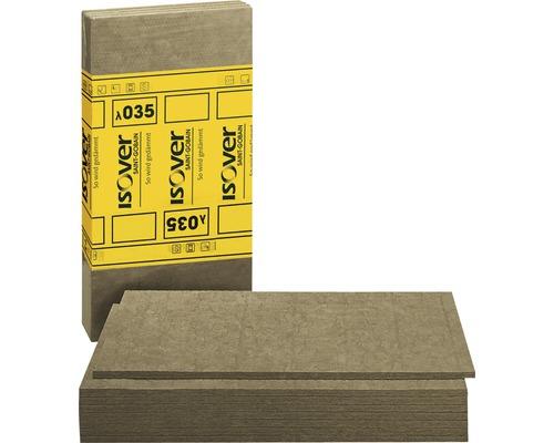 Panneau de protection au feu ISOVER Protect BSP 100 pour l''aménagement intérieur catégorie de conductivité thermique 035 1200 x 625 x 100 mm