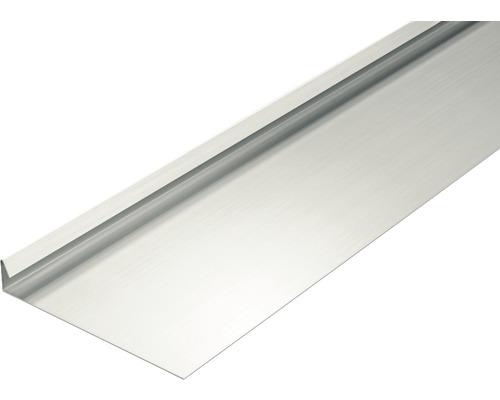 Suspension de gouttière aluminium 90° sans rainure d''eau PRECIT 1 m