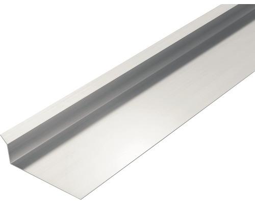 PRECIT Aluminium Kappleiste ohne Silikonaufschlag 1000 x 78 x 30 mm