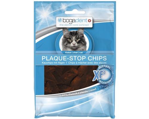 En-cas pour chats bogadent Plaque- Stop Chips, 50 g
