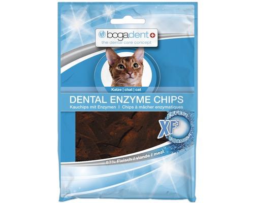 En-cas pour chats bogadent Dental Enzyme Chips, 50 g