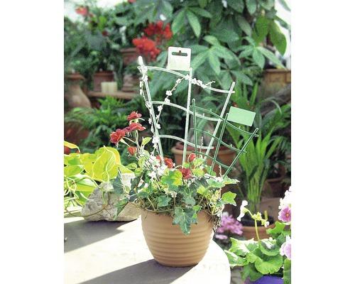 Treillis à plantes FloraSelf® courbé 30cm, vert