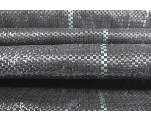 Tissu sous-terrain 100g/m² FloraSelf® 1500x200cm, noir
