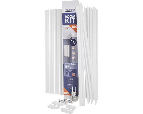 Kit de moulures de plafond « Roomkit » D10 24 m