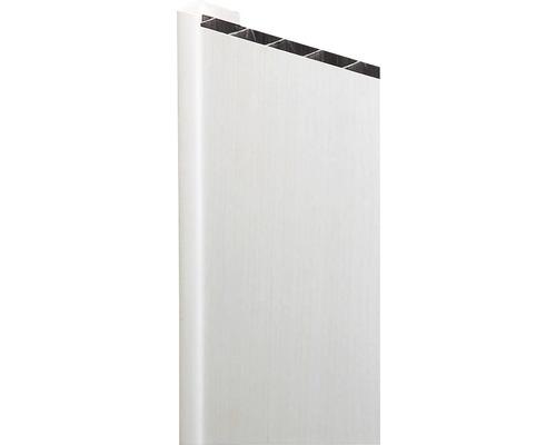 Baguette de finition blanc 13x25x2600 mm