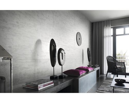Lambris en PVC 8x375x2600 mm bois raboté gris