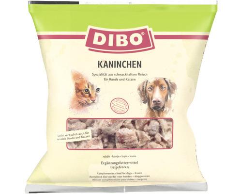 Viande de lapin DIBO nourriture surgelée 1kg