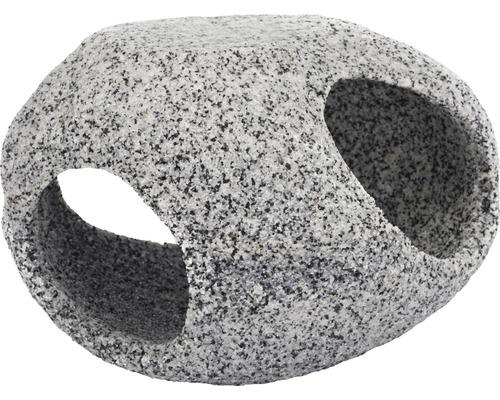 Décoration aquatique cachette en pierre grand modèle 10,2cm