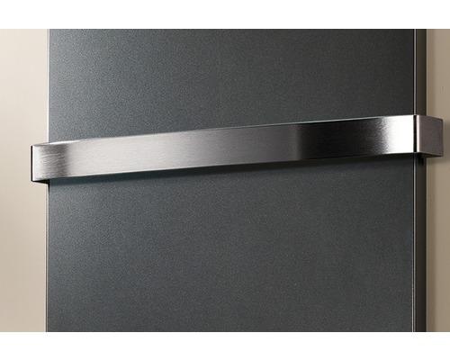 Porte-serviettes pour radiateurs design New York, Aachen et Lyon H3803 acier inoxydable brossé