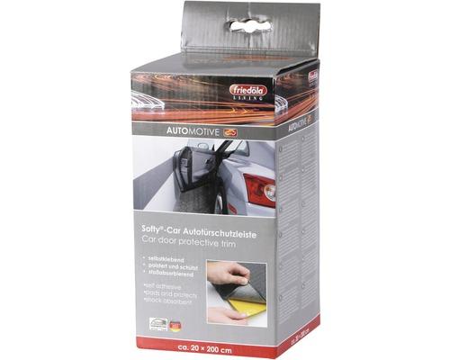 Barre de protection de porte de voiture Softy-Car® anthracite-gris 20x200 cm