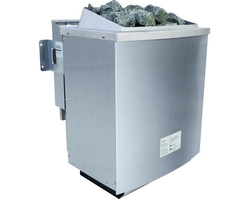 Poêle à sauna 9 kW Poêle mixte bio sans commande