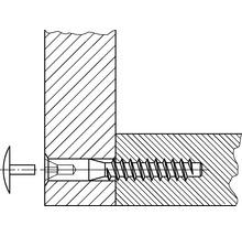 Capuchon de recouvrement 3x15 mm blanc 100 unités-thumb-1