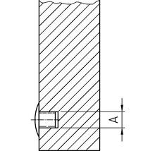 Cache de recouvrement 10x13 mm blanc 100 unités-thumb-1