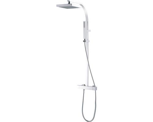Colonne de douche avec thermostat AVITAL Melda chrome