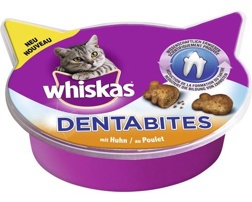 Whiskas En-cas pour chats Dentabites Dinde, 40 g