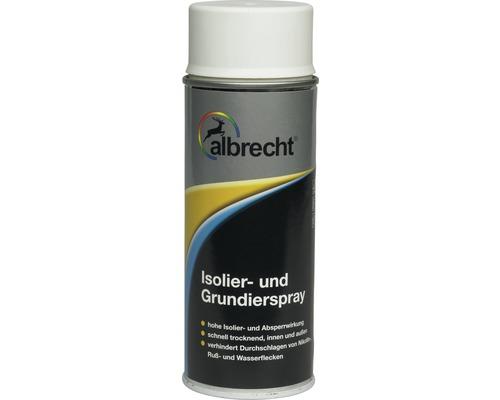 Spray d''isolation et d''enduit Albrecht blanc 400 ml