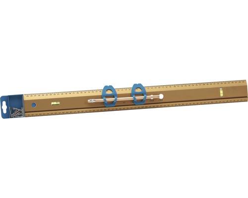 Galerielineal 60 cm mit Wasserwaage