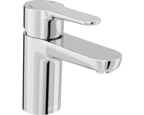 Mitigeur de lavabo AVITAL Amato chrome, mécanisme de vidage inclus