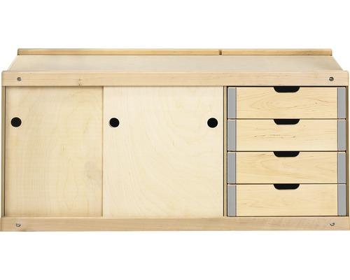 Etabli en bois largeur 98,5cm