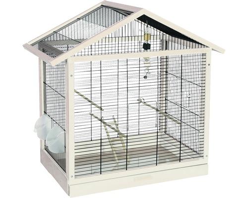 Cage pour oiseaux Antonia, blanc