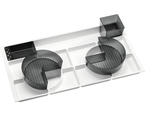 Set organisationnel Fackelmann pour tiroirs de 80cm 4 pièces 89804