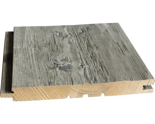 Profilé en biseau Konsta épicéa haché gris 21x195x2650 mm