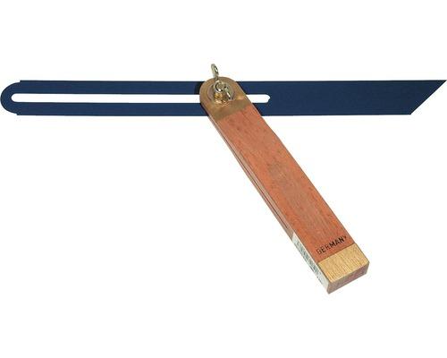 Holzschmiege 300 mm Buche/Messing