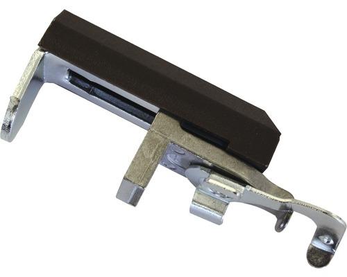Support de serrage en PVC brun, lot de 2