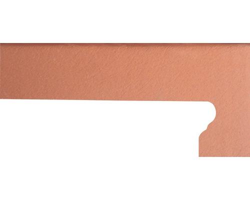 Plinthe pour marche d''escalier florentin à droite Cotto di Volt. 9x42cm