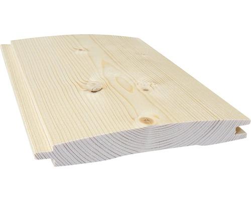 Profilé de cabane en bois épicéa Konsta A 21x146x2100 mm