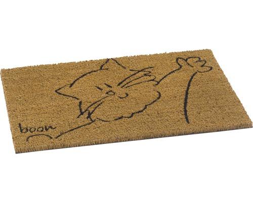 Paillasson en fibres de noix de coco Boon Cat naturel 40x60 cm