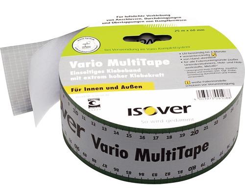 Ruban adhésif ISOVER Vario MultiTape multifonction et simple face pour l''intérieur et l''extérieur 25 m x 60 mm