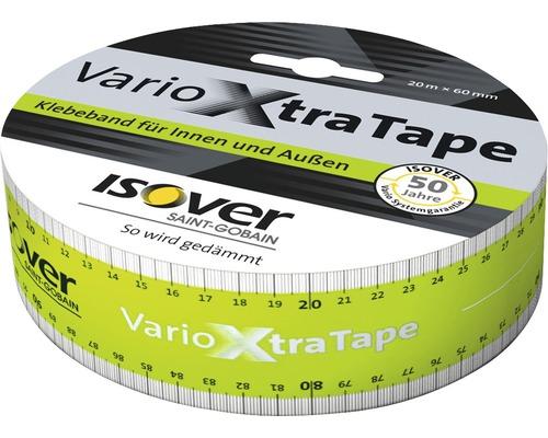 Ruban adhésif ultra-puissant ISOVER Vario XtraTape pour l''intérieur et l''extérieur 20 m x 60 mm